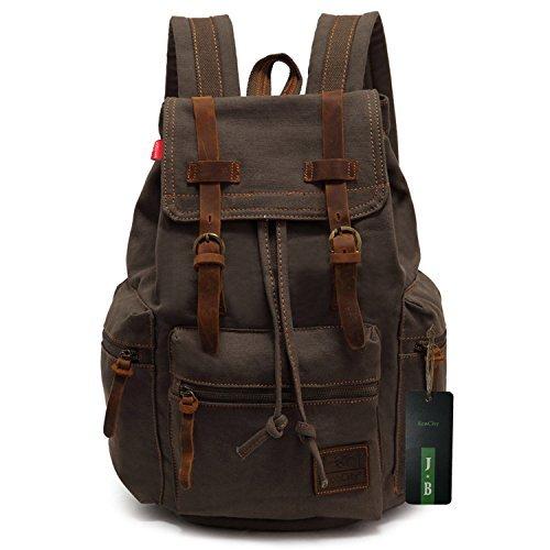 Esto es para ti Mochila Casual Escolar estilo vintage EcoCity Backpack de  Lona