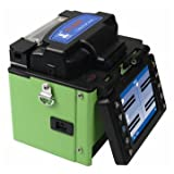 Optical Handheld FTTH Fiber Optic Fusion Splicer Core-Core or Clad-Clad Alignment High Precision with Optical Fiber Cleaver