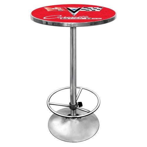 Chevrolet Corvette Chrome Pub Table