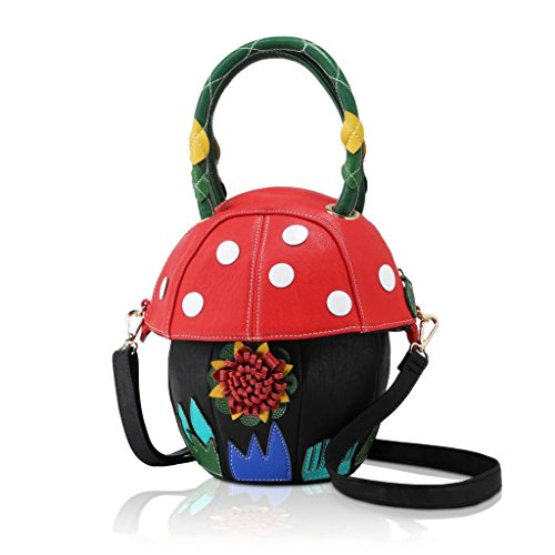 DARLING'S Mushroom Fashion Design Handbag Shoulder Bag