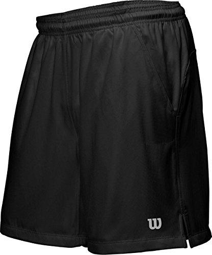 Wilson M Rush 9 Woven Pantaloncini, Nero, S