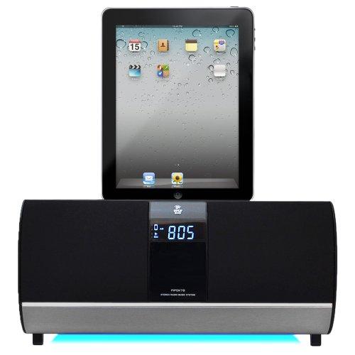 Pyle Fm Receiver Radio With Ipod/Ipad/Iphone Docking Station And Alarm Clock