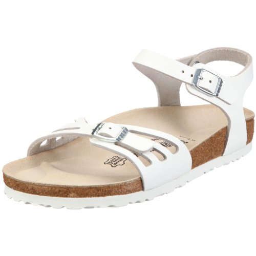 Birkenstock Bali Smooth Leather, Style-No. 85131, Women Sandals, White, EU 39, normal width