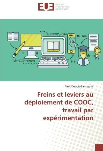 Freins et leviers au déploiement de COOC, travail par expérimentation