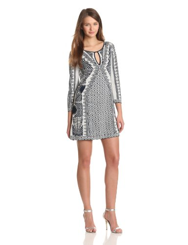 BCBGMAXAZRIA Womens Megan Mixed Jacquard