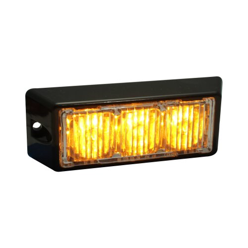Lamphus Solarblast 3W Led Emergency Vehicle Truck Grille Deck Warning Light Head ( Other Color Available ) - Amber
