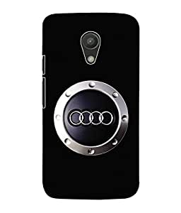 Fuson 3D Printed Car Designer Back Case Cover for Motorola Moto G2 - D584