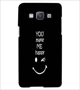PrintDhaba Quote D-2628 Back Case Cover for SAMSUNG GALAXY E5 (Multi-Coloured)