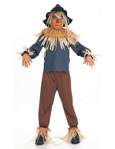 Wizard Of Oz Scarecrow Child Lg Kids Boys Costume