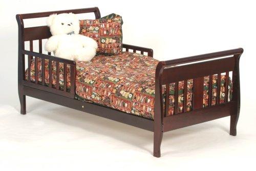 Stork Craft Soom Soom Toddler Bed In Cherry