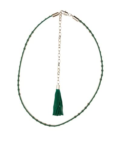 Cortefiel Cintura Strass [Verde]