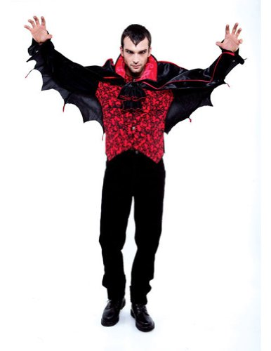 Count Mens Lg Halloween Costume - Adults 46-48