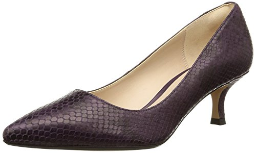 Clarks Aquifer Soda, Decolleté chiuse donna, Viola (Violett (Purple Snake)), 37.5