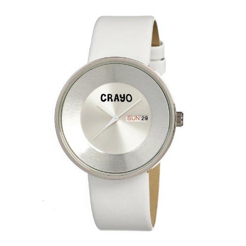 crayo-cracr0208-reloj-correa-de-cuero-color-blanco