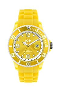 Ice-Watch Unisex-Armbanduhr Limited DE - Sunshine - Unisex Analog Quarz Silikon SI.SUN.U.S.13