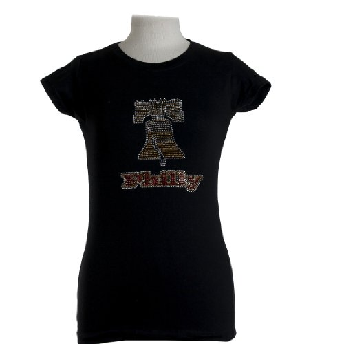 Liberty Bell Philly Rhinestone T-Shirts