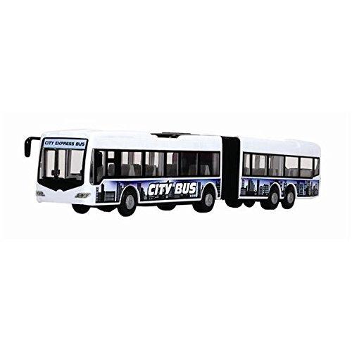 Dickie Toys 203748001-City Express Bus, articolazioni Bus, 46cm