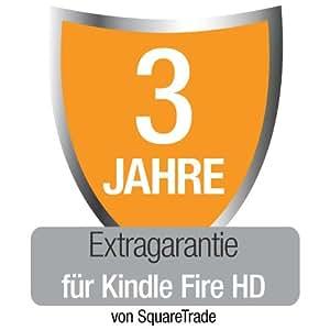 Kindle Fire HD 7 [Vorgängermodell] Extragarantie [3 Jahre] mit Unfall- und Diebstahlschutz, nur Deutschland