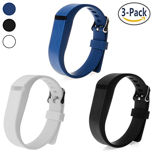 Wristband For Fitbit Flex Austrake 3 Pack Adjustable Replacement Bands Colorful Wristband Sport band Fashion Wristband