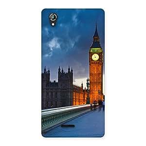 Cute London City Multicolor Back Case Cover for Lava Iris 800