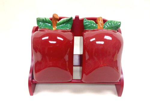 Tuscany 3-D Apple Cookie Jars