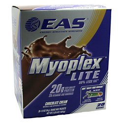 Myoplex Lite, Chocolate Cream, 20 Packets, From EAS