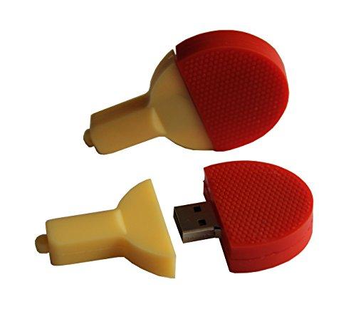 Tomax ping pong rosso chiassoso come USB Flash Drive 8GB USB Flash Drive