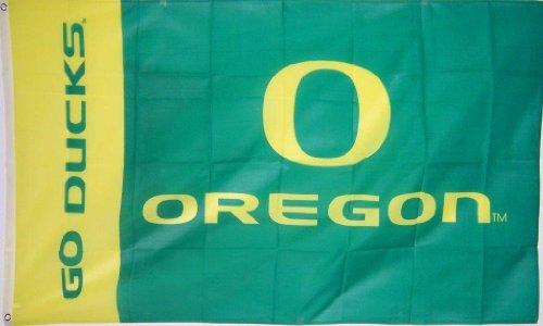 Oregon 'Go Ducks' Flag 3' X 5' Ncaa Banner