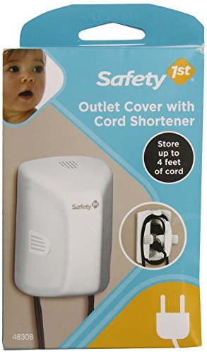 Safety 1st Outlet Cover with Cord Shortener (Hide A Cord compare prices)