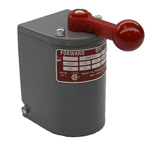 1.5 Hp - 2 Hp Electric Motor Reversing Drum Switch - Spring Returned - Rs-1M