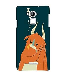 EPICCASE Sleeping monster Mobile Back Case Cover For CoolPad Note 3 (Designer Case)