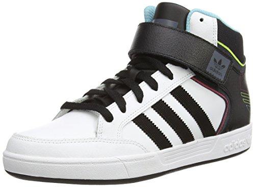 Adidas - Varial Mid, Scarpe Da Skateboard da uomo, Bianco (Weiß (Ftwwht/Cblack/Ltaqu)), 43 1/3