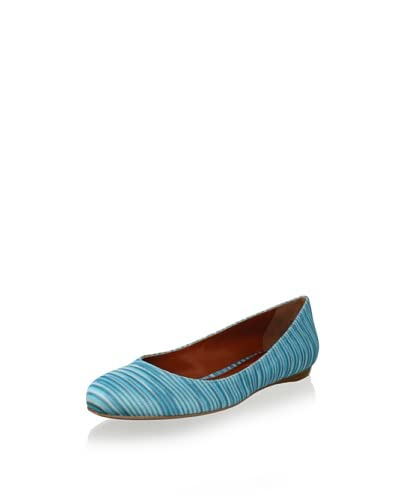 Missoni Women's Ballet Flat  – Blue