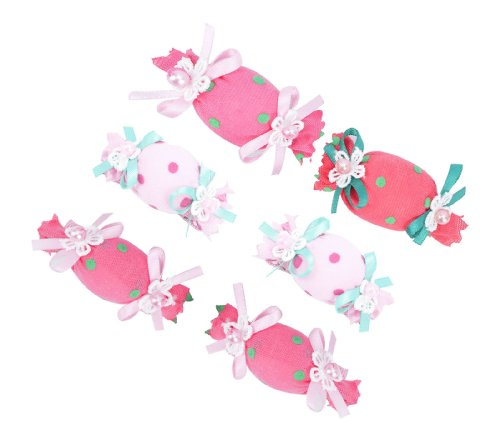 Simplicity® Babys Girls Cute Candy Soft Headbands Hair Clips
