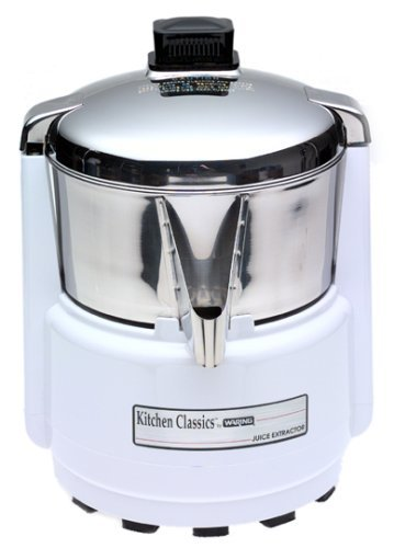 Waring PJE401 Juice Extractor, Quite White and Stainless Steel Home Supply Maintenance Store