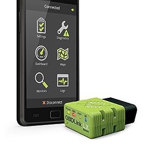 ScanTool 427201 OBDLink LX Bluetooth: OBD Adapter/Diagnostic Scanner for Android & Windows