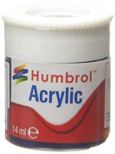 Humbrol Acrylic Paint, Himmelblau - 1