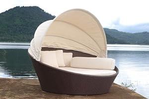 Outdoor Wicker Bed