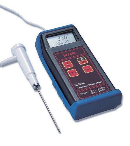 Hanna Instruments HI 9040 Thermistor Thermometer w/HI 765BL Temp Probe