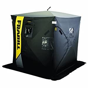 Frabill Thermal Frontier 2-Man Hub Shelter, 60 x 60 x 67-Inch by Frabill