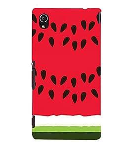 EPICCASE Watermelon Case Mobile Back Case Cover For Sony Xperia M4 Aqua Dual (Designer Case)