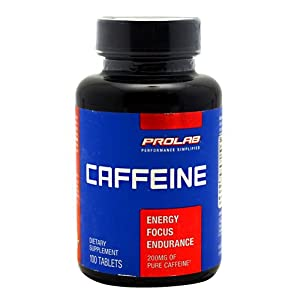 Prolab Caffeine Maximum Potency 200 mg Tablets 100 tablets