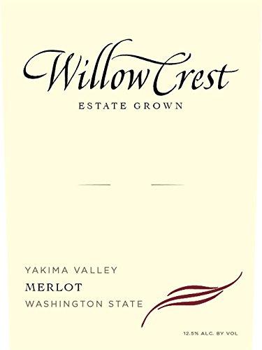 2011 Willow Crest Merlot, Estate Grown, Yakima Valley, 750 Ml