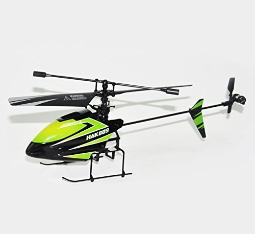 "Haktoys HAK809 10"" Mini 2.4GHz Single Blade 4 Channel RC Helicopter"