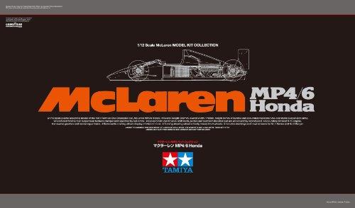 スケール限定シリーズ 1/12 マクラーレン MP4/6 Honda 89721