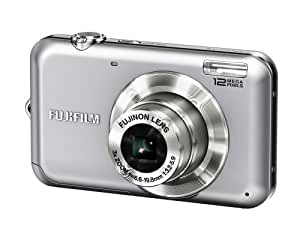 Fujifilm FinePix JV100 12 MP Digital Camera with 3x Optical Zoom and 2.7-Inch LCD (Silver)