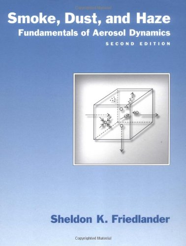 Smoke, Dust, And Haze: Fundamentals Of Aerosol Dynamics (Bulletin)