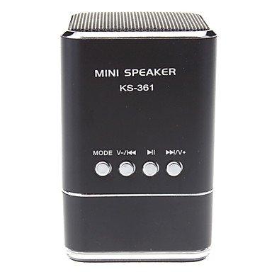 Zaki Ks-361 Hi-Fi Stereo Music Micro Tf/Usb Fm Speaker , Silver
