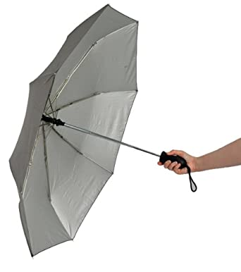 The Travellers Choice Telescopic Sun Block Umbrella with Excellent UV Protection
