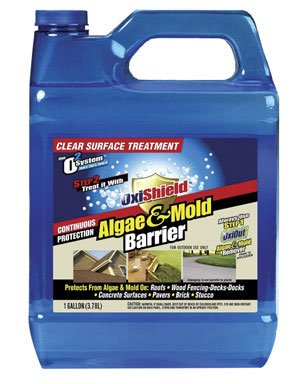 Buy Oxishield Algae & Mold Barrier, 1 Gal (Oxibrands, LLC Painting Supplies,Home & Garden, Home Improvement, Categories, Painting Tools & Supplies, Paint Stain & Solvents)